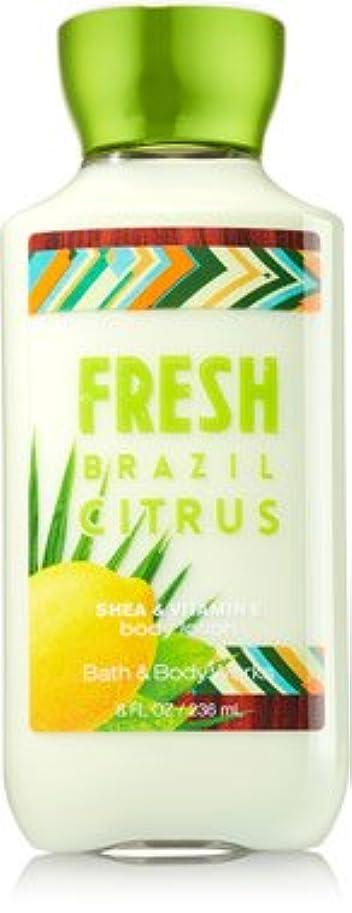 金貸し経済スラダムバス&ボディワークス フレッシュブラジル シトラス FRESH BRAZIL CITRUS ボディローション [並行輸入品]