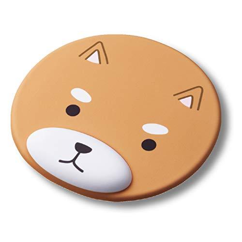 エレコム マウスパッド かわいい リストレスト付き 「MOCHIMAL」 イヌ MP-AN01DOG