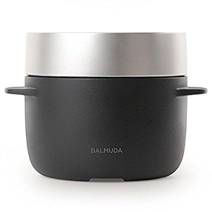 バルミューダ 3合炊き電気炊飯器 BALMUDA The Go...