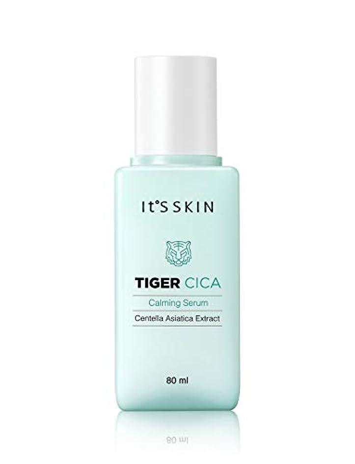 利得ワゴンコーチイッツスキン タイガーシッカ カーミング セラム 80ml 美容液 Tiger Cica Calming Serum