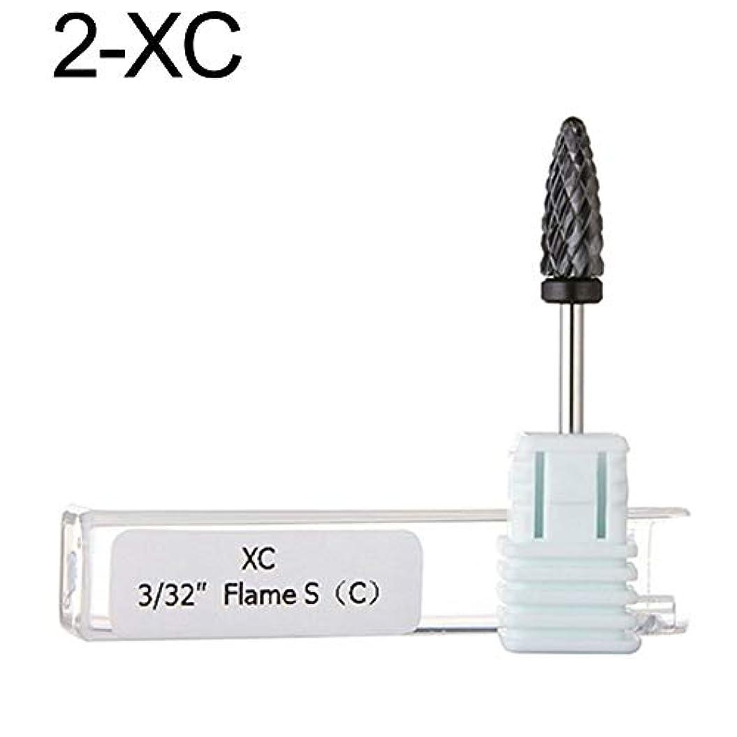 謝るつかまえる分析的hamulekfae-弾丸コーンヘッドセラミックネイルアート研削ドリルバービット電気マニキュアツールXC