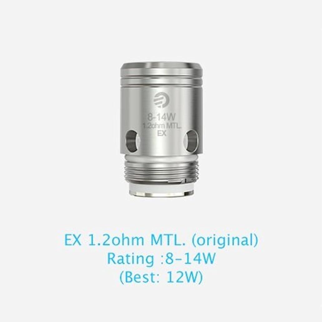 気をつけて専制チューリップJoyetech EX Series Heads (EX 0.5ohm DL./EX 1.2ohm MTL.)5個入りセット (EX1.2ohm MTL)