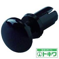 トラスコ中山 株 TRUSCO プッシュリベット 板厚5.5~6.5mm 穴径4.1Φ 長さ8.0 黒 50個入 TPR4080-BK