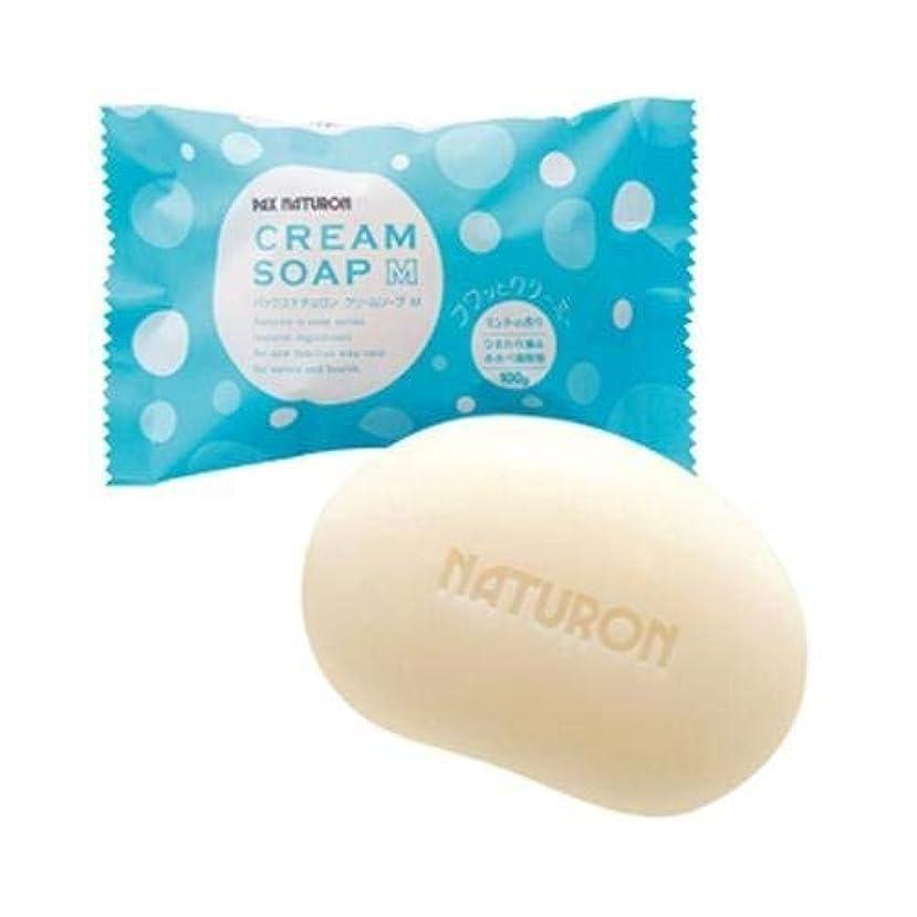 潤滑する影響を受けやすいです多用途パックスナチュロン クリームソープM ミントの香り 100g ×2セット