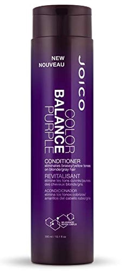 対処教育者独特のジョイコ Color Balance Purple Conditioner (Eliminates Brassy/Yellow Tones on Blonde/Gray Hair) 300ml/10.1oz並行輸入品