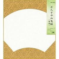 色紙 どんす型物 平外 金茶1枚P入