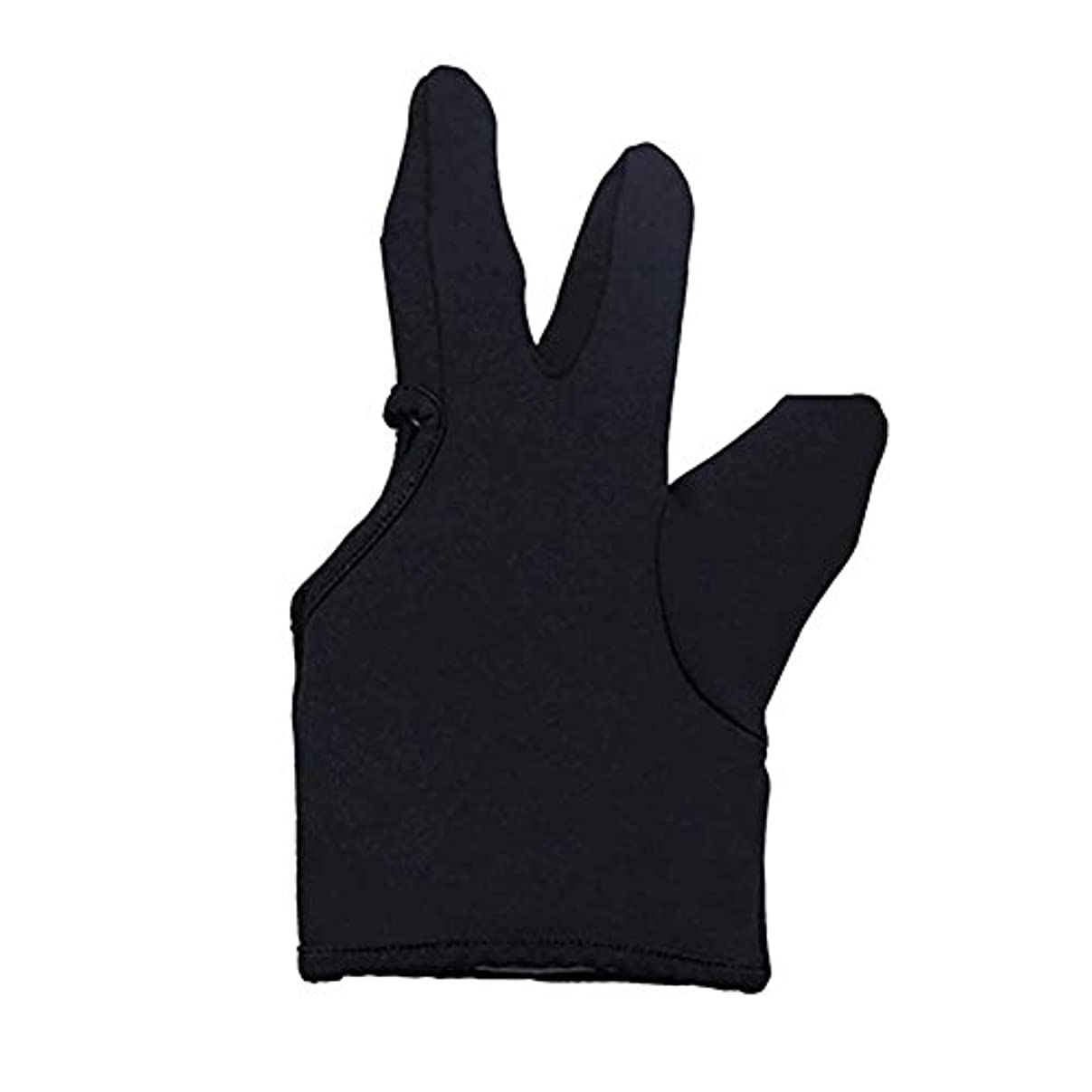 可能にする想像する隣接Liebeye 3本の指耐熱フィンガー保護手袋 ヘアスタイリングツール