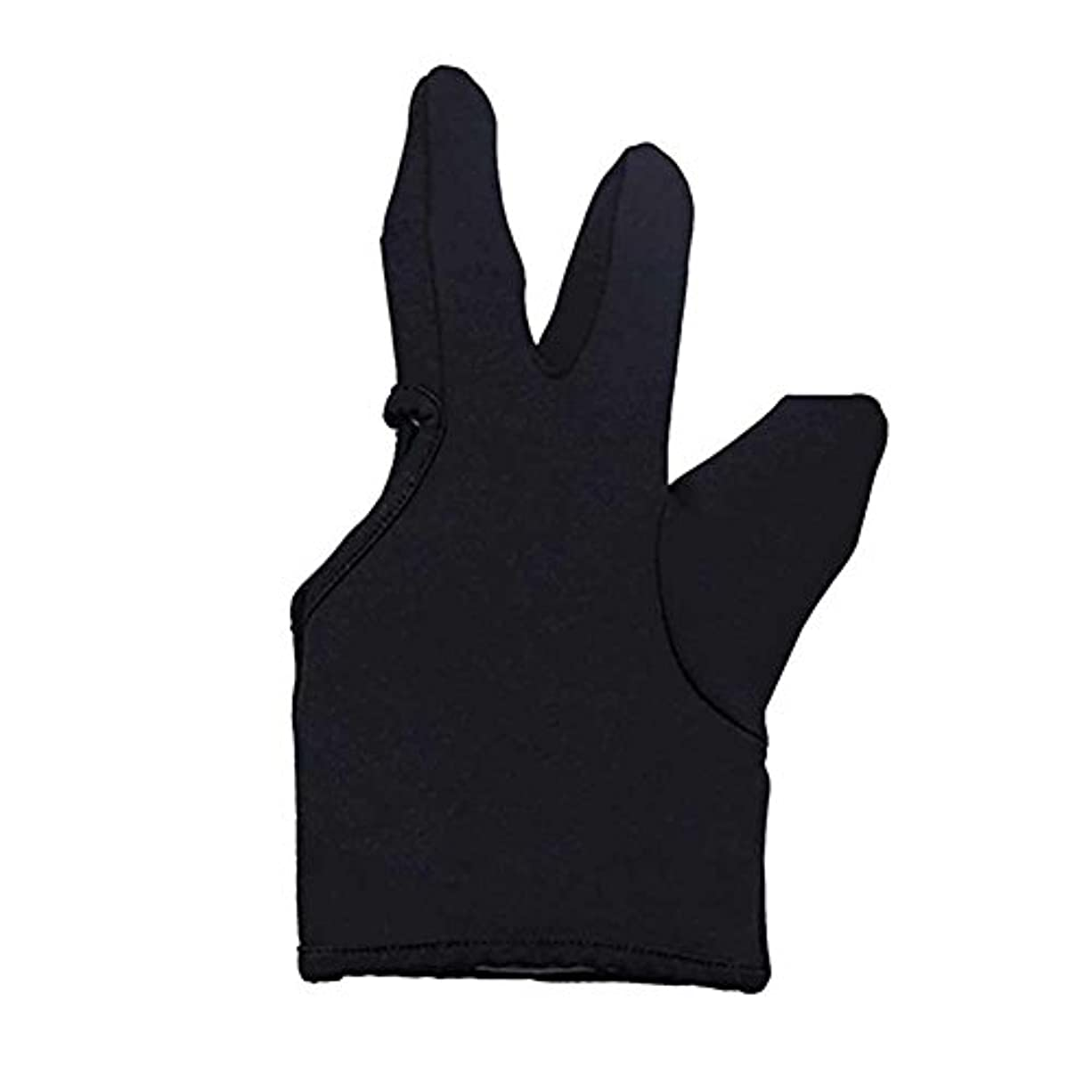 軽長老ご覧くださいLiebeye 3本の指耐熱フィンガー保護手袋 ヘアスタイリングツール