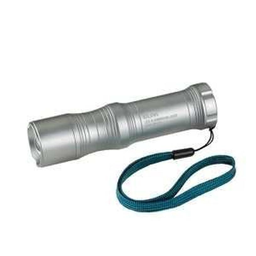 コロニーエジプト人複雑(まとめ買い) ELPA LED懐中電灯(シルバー)65ルーメンERGO Form LED LIGHT DOP-EP113 【×3】
