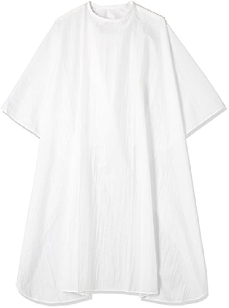 エルコ シワカラー袖なしカット ホワイト60
