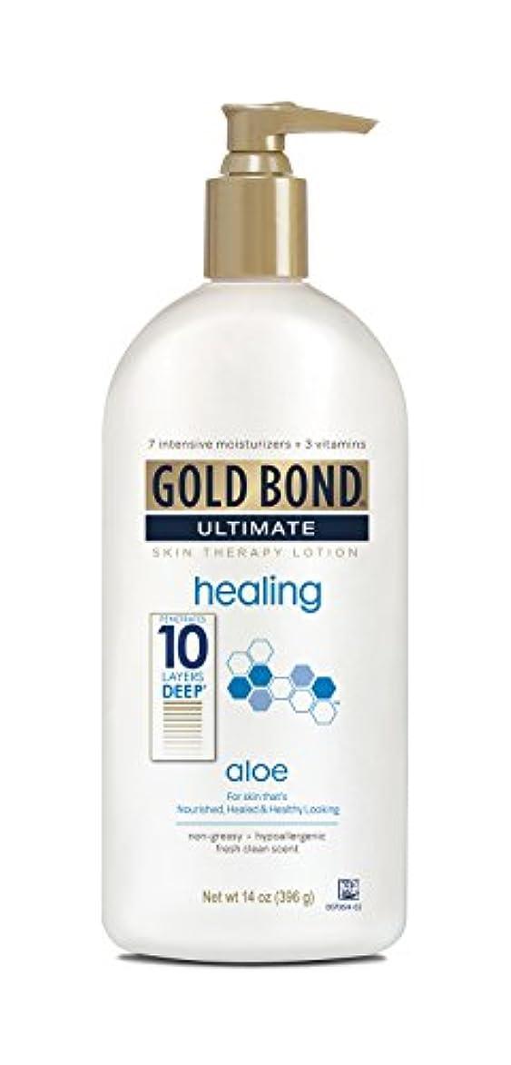 動かない乳白色支給Gold Bond Ultimate Healing Lotion 415 ml (並行輸入品)