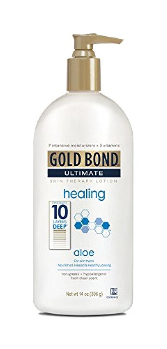 ダイエット特許アジャGold Bond Ultimate Healing Lotion 415 ml (並行輸入品)