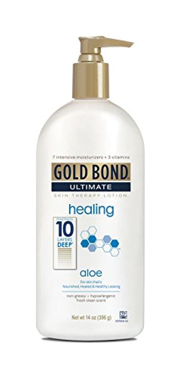 マンハッタン見習い法的Gold Bond Ultimate Healing Lotion 415 ml (並行輸入品)
