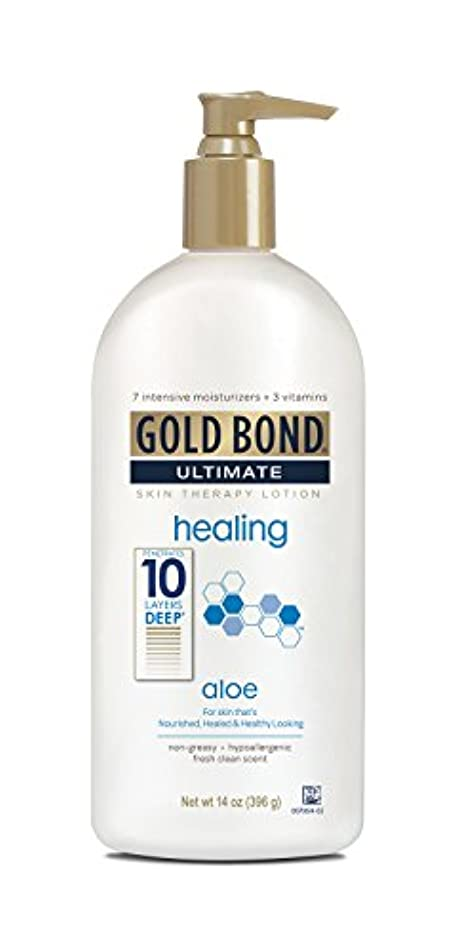 巨大性的不屈Gold Bond Ultimate Healing Lotion 415 ml (並行輸入品)