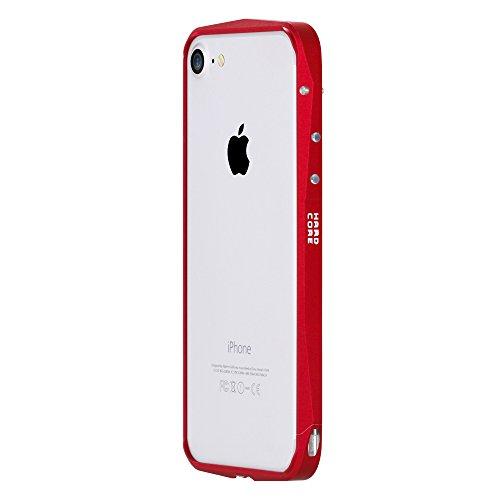 iPhone7 アルミ製メタルバンパー最新型 SWORD社最新シリーズ カッコいい【純正・真正品】アイフォン7 超軽量 アルミニウム バンパーケース iPhone7 アルミ バンパー カバー フレーム アルミ 電波改善 耐衝撃 (iphone7, レッド)