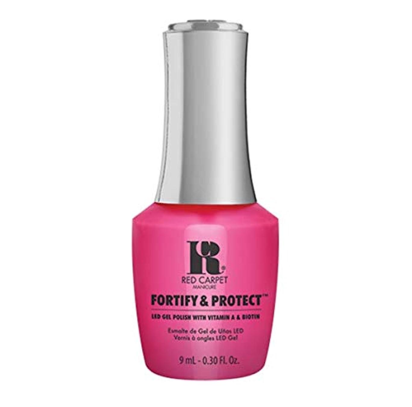頑丈同意するさておきRed Carpet Manicure - Fortify & Protect - Publicist In Pink - 9ml / 0.30oz