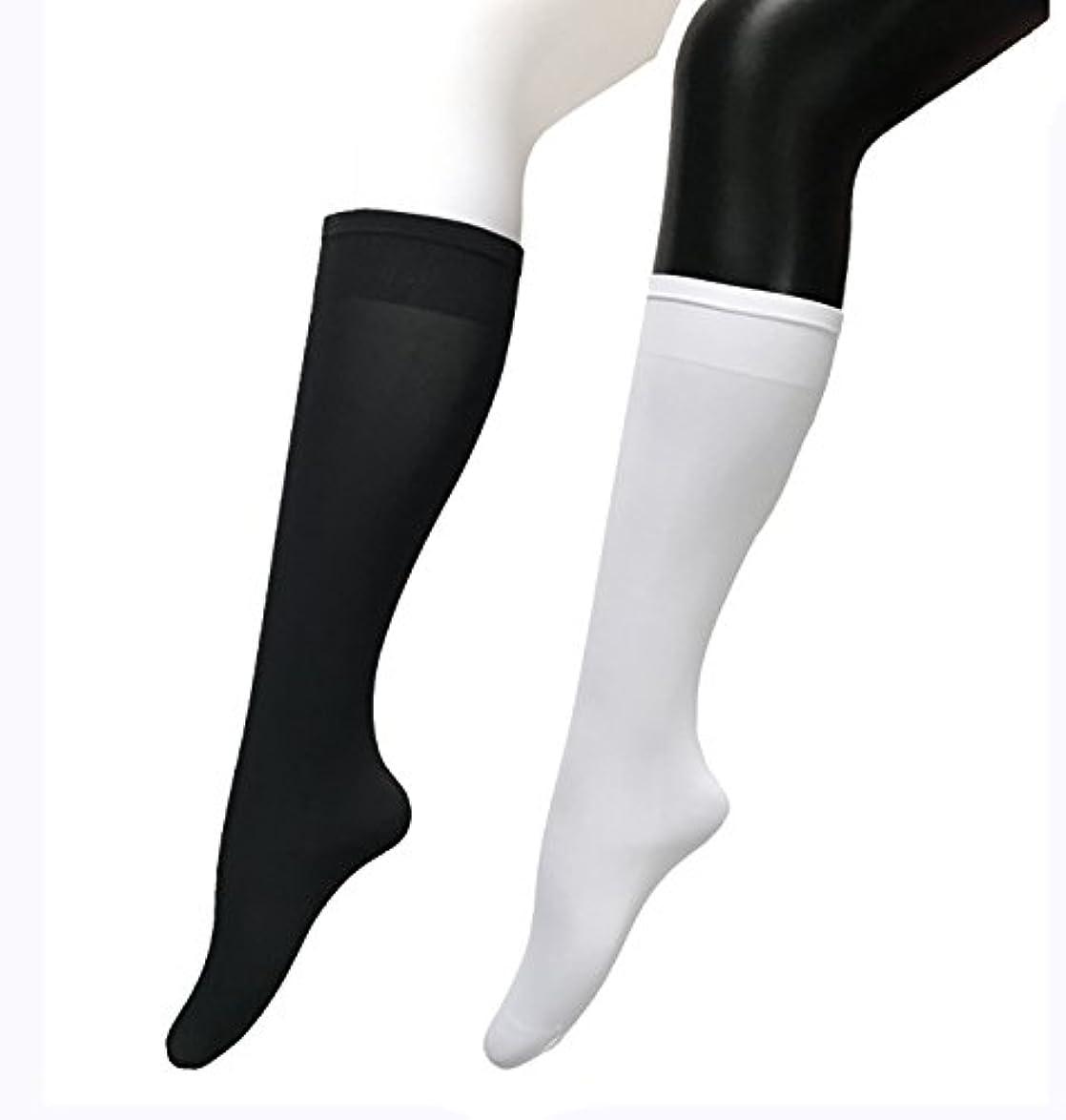 合図流枯渇COSCO ストッキング ソックス ニーソックス 膝下タイプ 着圧 美脚 40CM