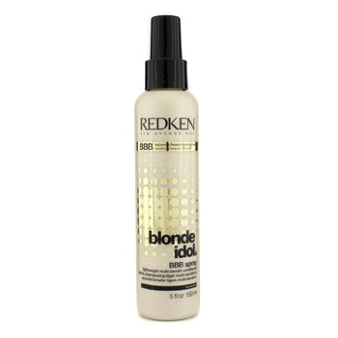 業界ホームレスクック[Redken] Blonde Idol BBB Spray Lightweight Multi-Benefit Conditioner (For Beautiful Blonde Hair) 150ml/5oz