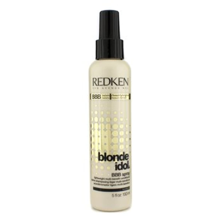 確認軽蔑するピアノ[Redken] Blonde Idol BBB Spray Lightweight Multi-Benefit Conditioner (For Beautiful Blonde Hair) 150ml/5oz