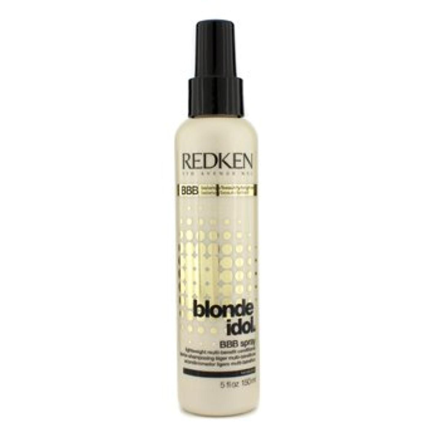 王朝国家素敵な[Redken] Blonde Idol BBB Spray Lightweight Multi-Benefit Conditioner (For Beautiful Blonde Hair) 150ml/5oz