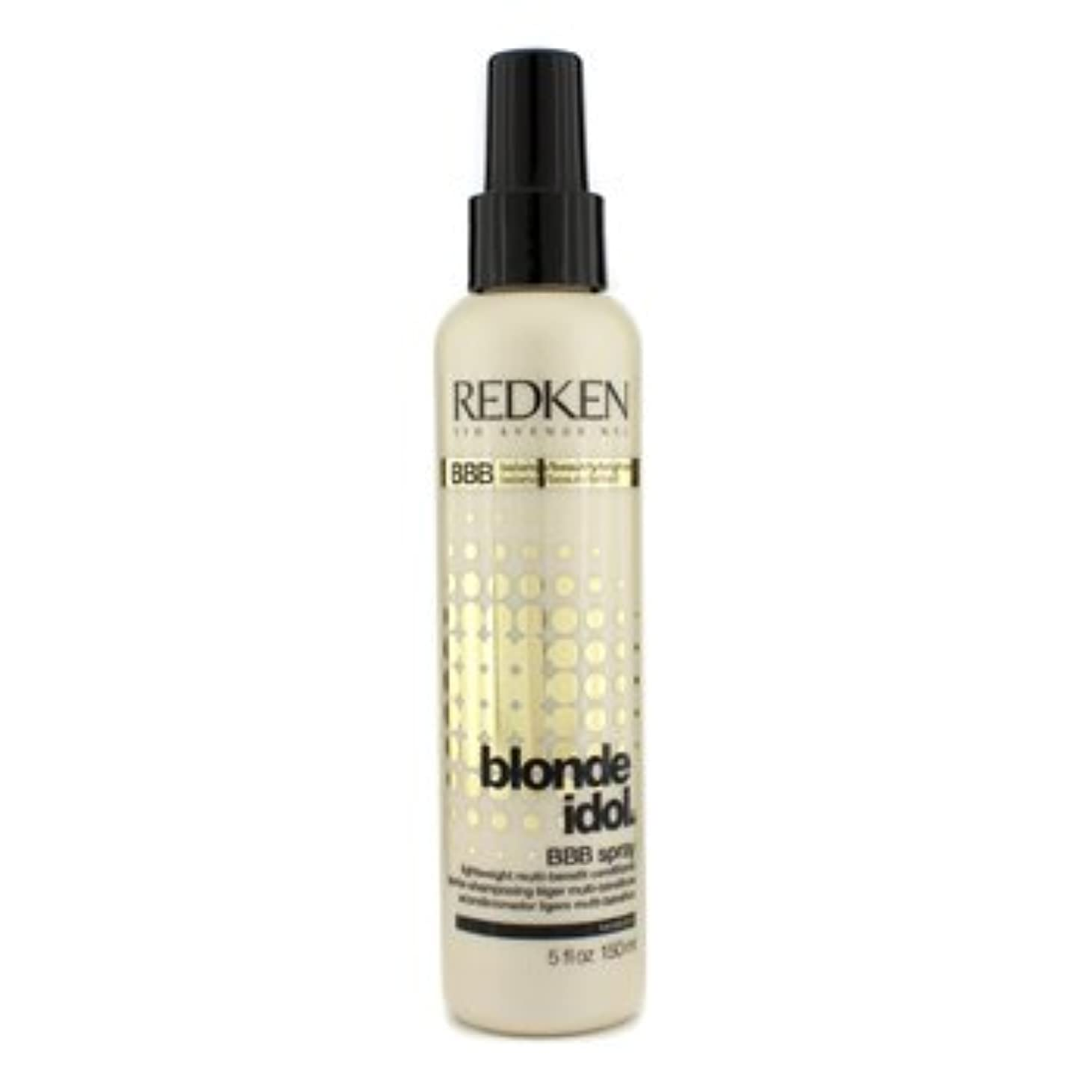 プラスチックもし温帯[Redken] Blonde Idol BBB Spray Lightweight Multi-Benefit Conditioner (For Beautiful Blonde Hair) 150ml/5oz
