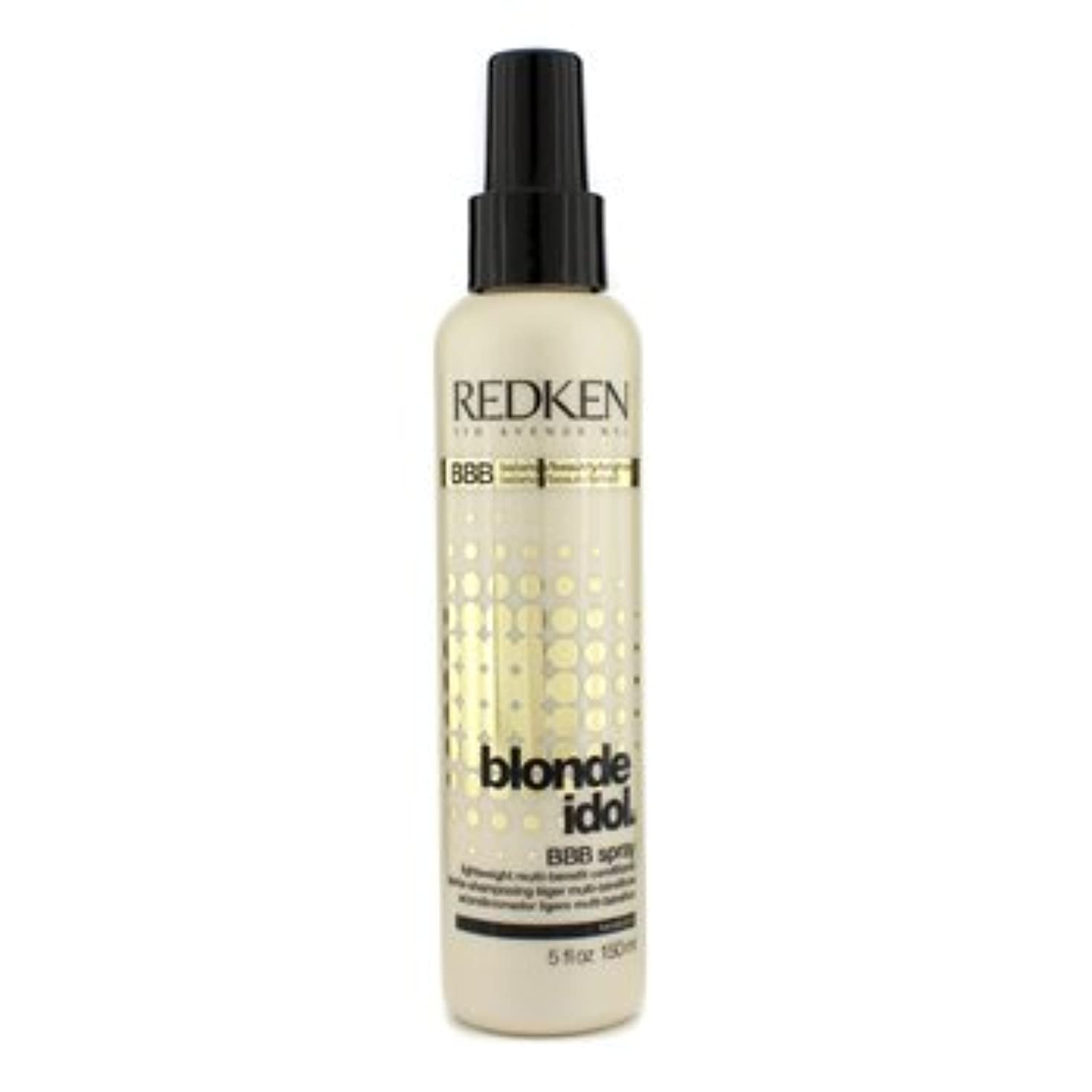 衣装ピンチ常習的[Redken] Blonde Idol BBB Spray Lightweight Multi-Benefit Conditioner (For Beautiful Blonde Hair) 150ml/5oz