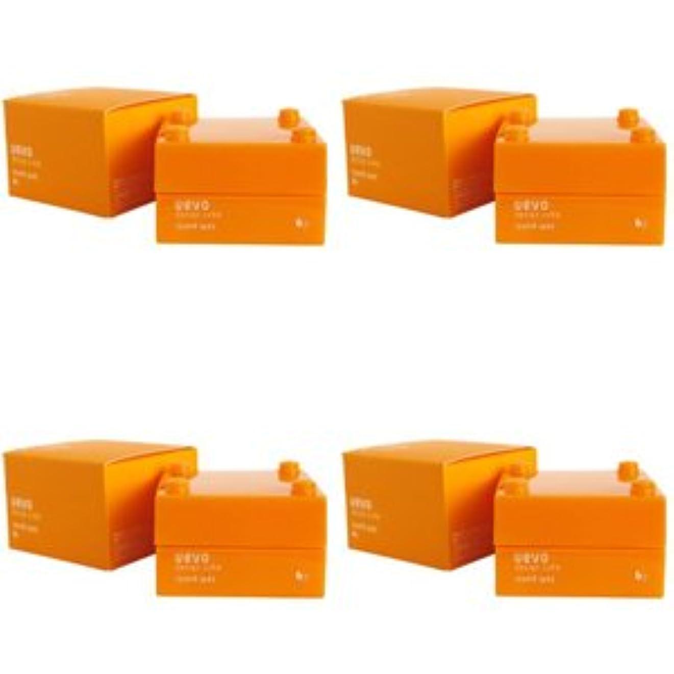 【X4個セット】 デミ ウェーボ デザインキューブ ラウンドワックス 30g round wax DEMI uevo design cube