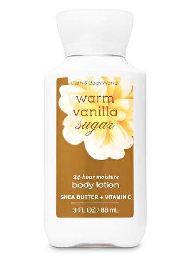 多様な義務づけるモールBath & Body Works Warm Vanilla Sugar ワームバニラシュガーbody lotion 88ml トラベルサイズ [海外直送品]
