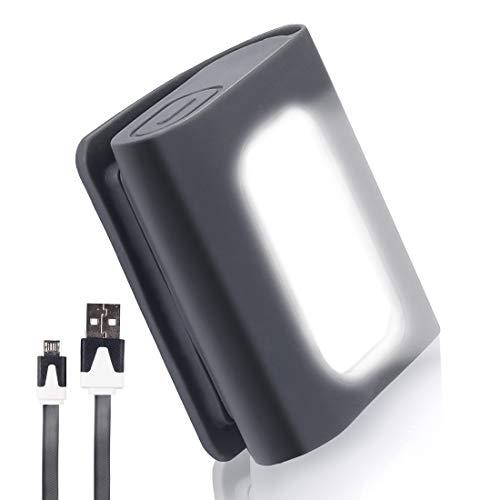 懐中電灯 LEDライト USB充電式 セーフティ クリップ LEDライト 軽量小型 150ルーメン