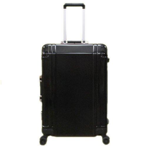 [ゼロハリバートン]ZERO HALLIBURTON スーツケース ZR-Geo 24インチ 4輪キャリーケース ブラック ZRG24-BK/94005-01 [並行輸入品]