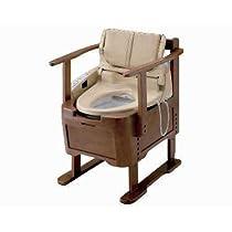 【ポータブル簡易トイレ】ウォシュレット付ポータブルトイレ らくらくリモコン付 ◆ [EWRS290]