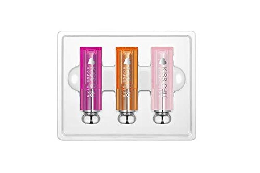 豪華な冷ややかな減衰[ルーズスター]キスチュー ハートエディション セット(3介入), [Rouge Star]Kiss Chew Heart Edition Set(3pieces)
