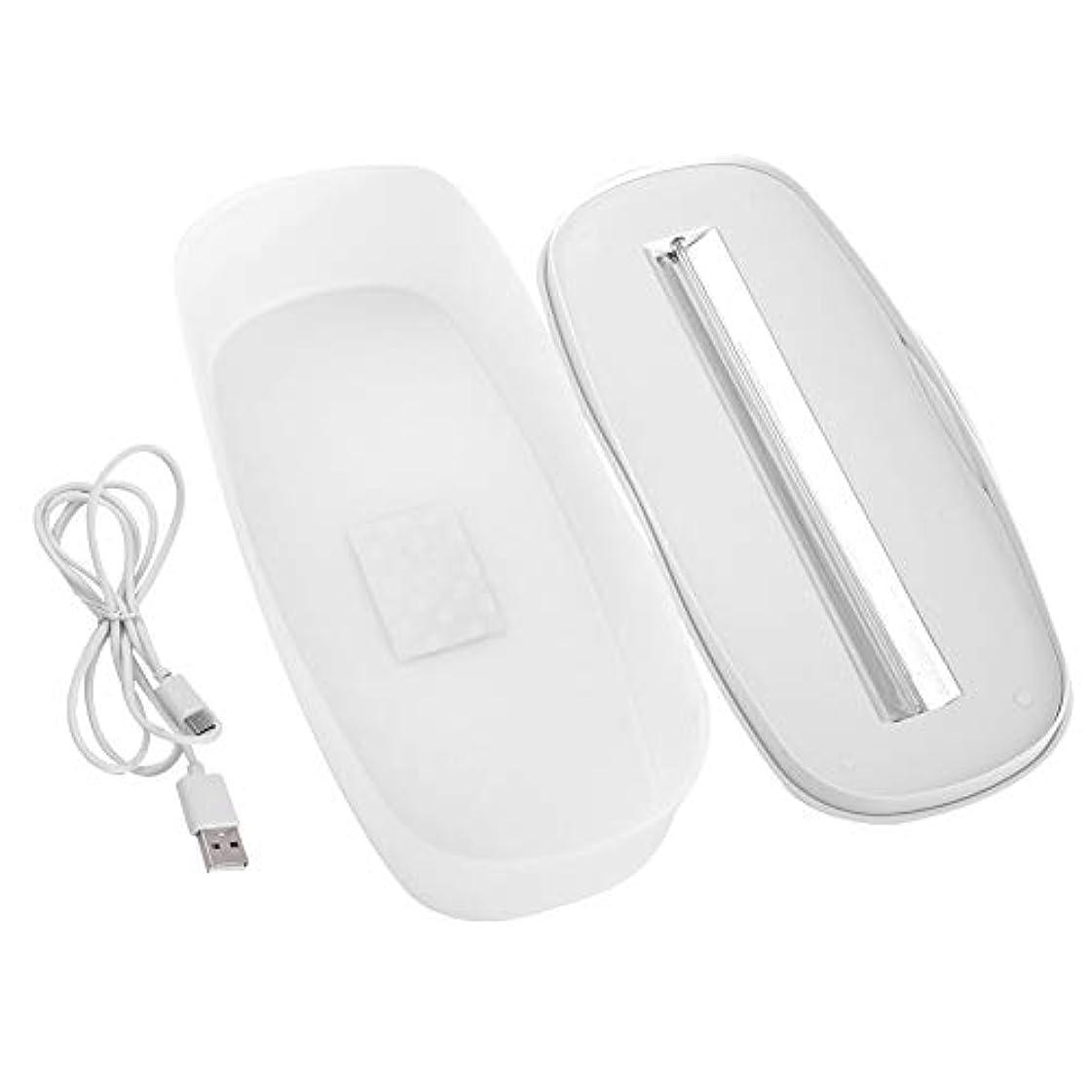 ミスペンドお風呂を持っているメイドネイルアートツールピンセットメイクブラシ用UV殺菌LED消毒ボックス