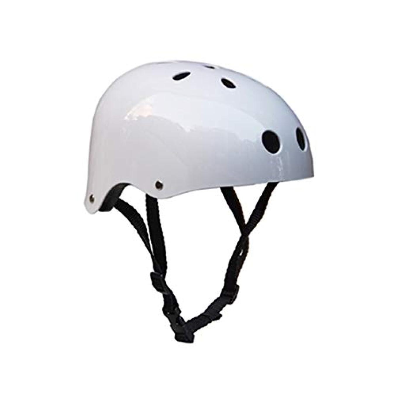 ひねり何十人も利益WTYDアウトドアツール クライミング機器安全ヘルメット洞窟レスキュー子供大人用ヘルメット開発アウトドアハイキングスキー用品適切な頭囲:54-57cm、サイズ:M 自転車の部品