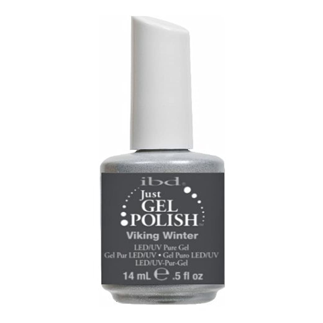 系譜子供時代正統派(3 Pack) ibd Just Gel Polish - Viking Winter (並行輸入品)