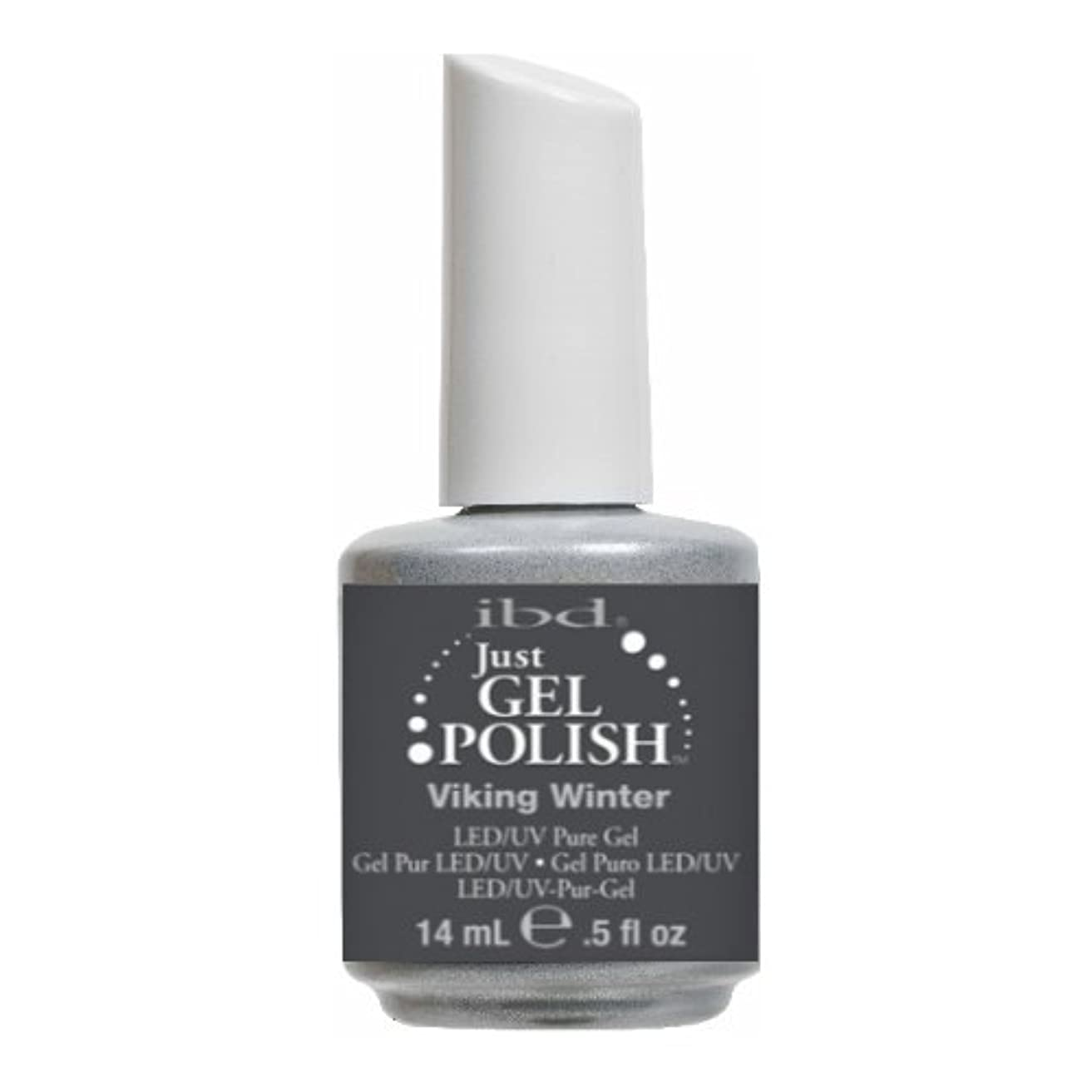 (3 Pack) ibd Just Gel Polish - Viking Winter (並行輸入品)