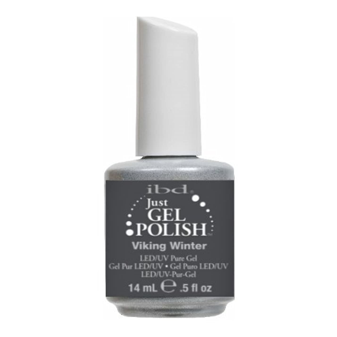 薬衝突コース任命(3 Pack) ibd Just Gel Polish - Viking Winter (並行輸入品)