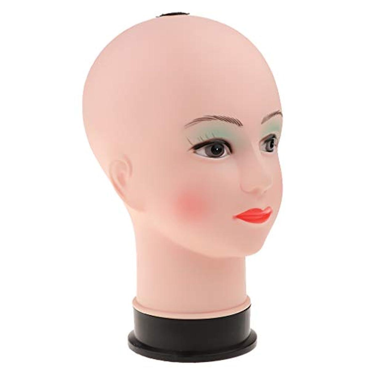 仮定するアナロジーコールドマネキンヘッド ウィッグ 化粧練習 帽子 ジュエリー サングラス スカーフディスプレイ 全2色 - 緑