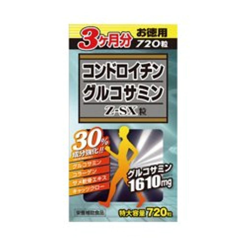 ありそう父方の溶接【ウエルネスジャパン】コンドロイチングルコサミンZ-SX粒 720粒 ×3個セット