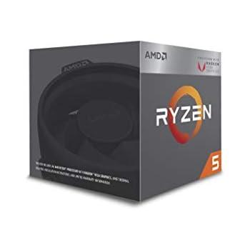 AMD CPU Ryzen 5 2400G with Wraith Stealth cooler YD2400C5FBBOX