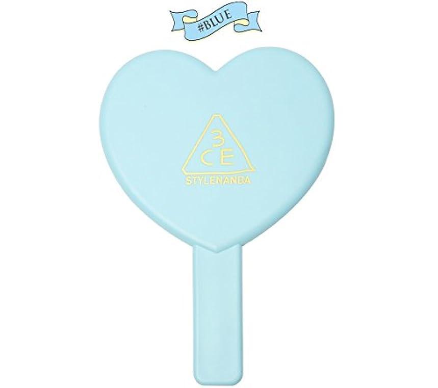 性交あたたかいバンジージャンプ3CE LOVE 3CE HEART HAND MIRROR (BLUE) / ラブ3CEハート?ハンド?ミラー (ブルー)[並行輸入品]