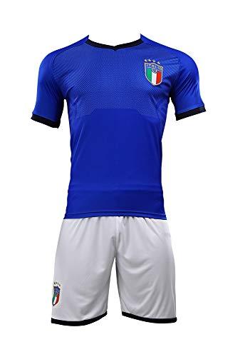 サッカー ワールドカップ 2018 イタリア代表 ホーム レプリカ ユニフォーム 半袖 メンズ M