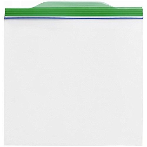 ジップロック お手軽バッグ ジッパー付き保存袋 Sサイズ 100枚入 (縦15cm×横16.5cm)
