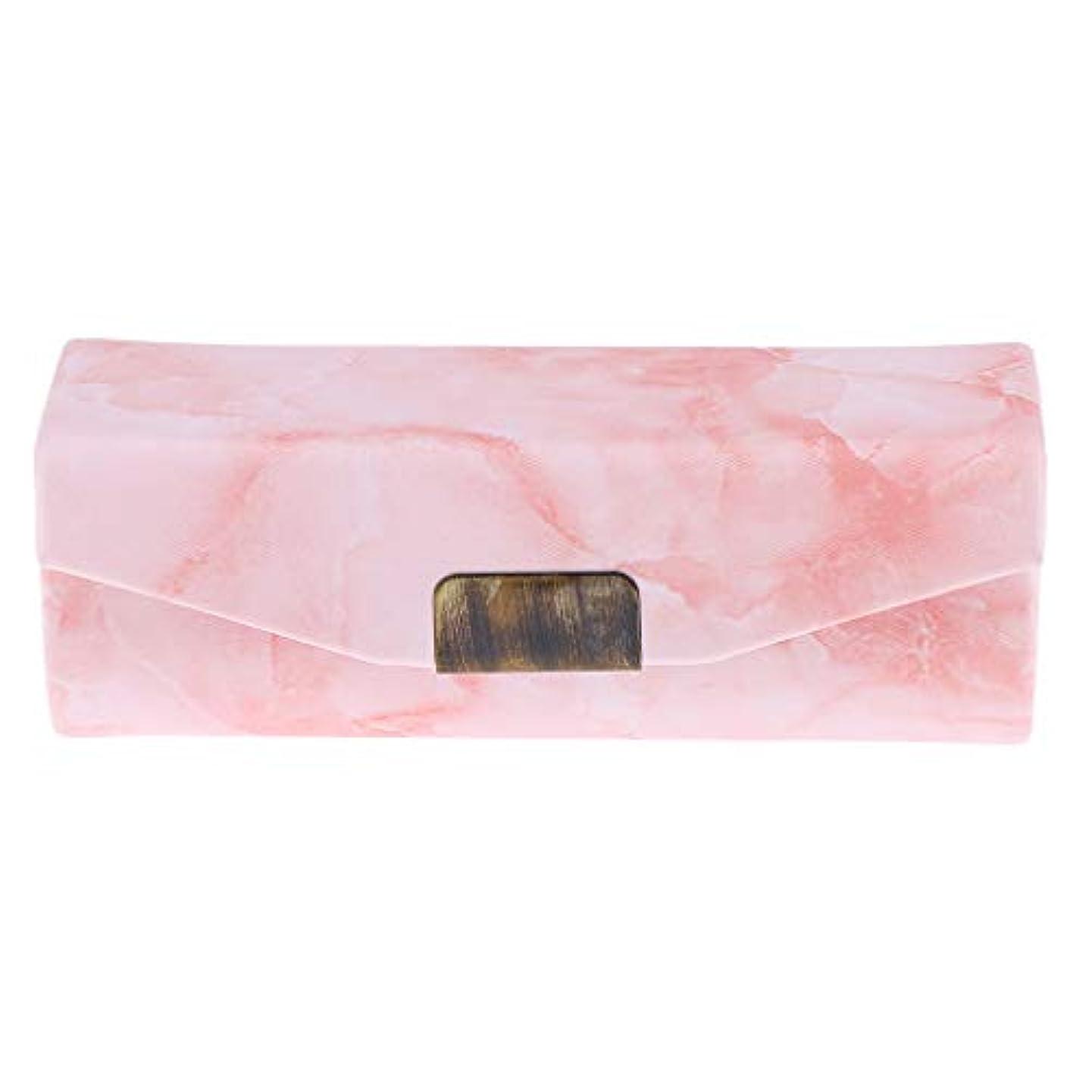 文明摂動ジャムリップスティックケース ミラー付き 口紅 コインケース 小物入り 実用的 6色選べ - オレンジピンク