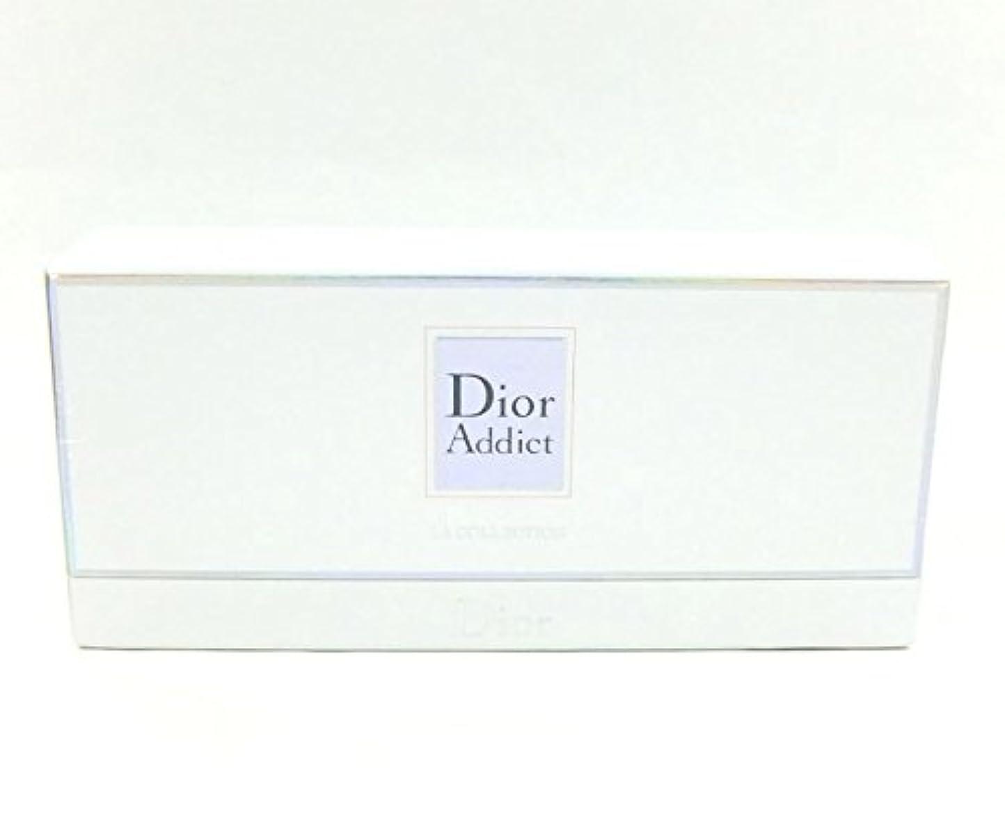 アーネストシャクルトン文法主クリスチャンディオール アディクト ラコレクション 5ml×4 BT (並行輸入) ミニチュア香水 セット