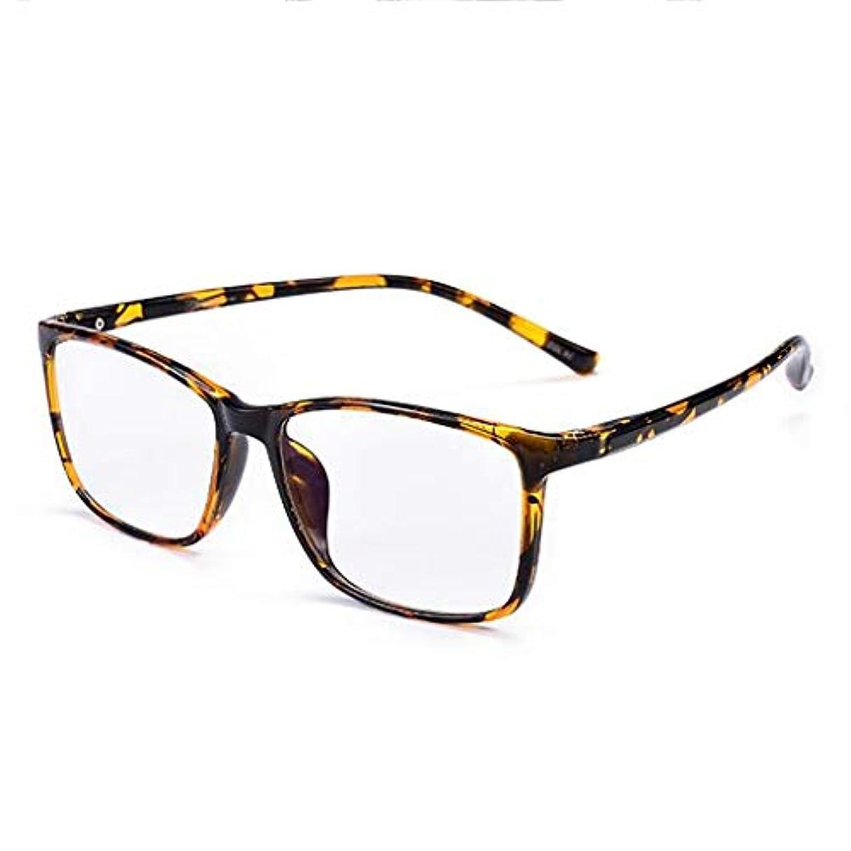 TR 90スマートズームプログレッシブ老眼鏡男性モデルの近くと遠い二重使用ラージフレーム樹脂アンチブルーライトメガネ 花が咲く (Color : B, Edition : +1.50)