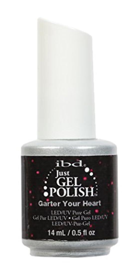 強度豊富に高価なibd Just Gel Nail Polish - Garter Your Heart - 14ml / 0.5oz
