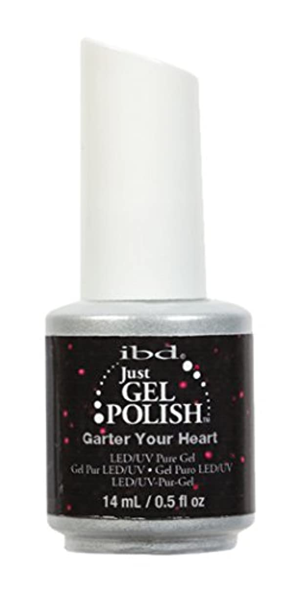 反逆者摂氏進行中ibd Just Gel Nail Polish - Garter Your Heart - 14ml / 0.5oz