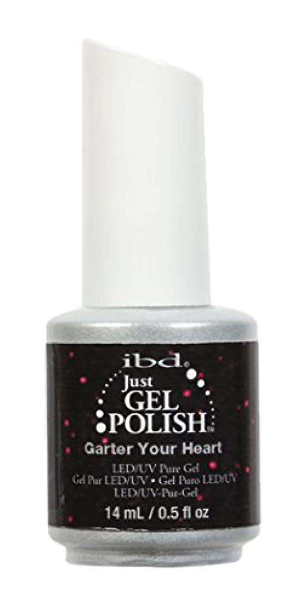 キモい依存木製ibd Just Gel Nail Polish - Garter Your Heart - 14ml / 0.5oz