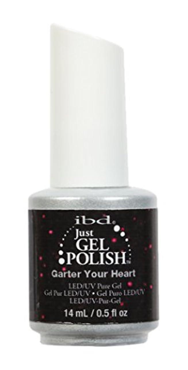 ibd Just Gel Nail Polish - Garter Your Heart - 14ml / 0.5oz